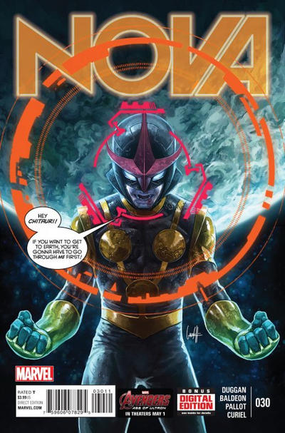Cover for Nova (Marvel, 2013 series) #30
