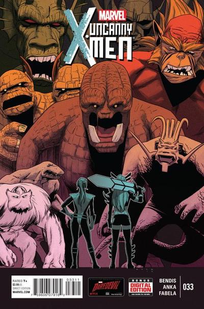 Cover for Uncanny X-Men (Marvel, 2013 series) #33 [Stacey Lee Women of Marvel Variant]