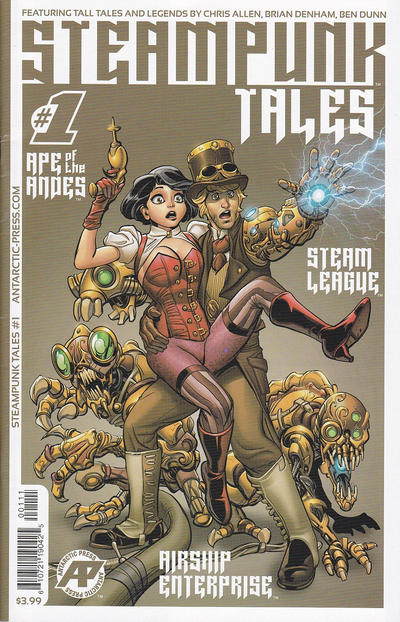 Cover for Steampunk Tales (Antarctic Press, 2014 series) #1