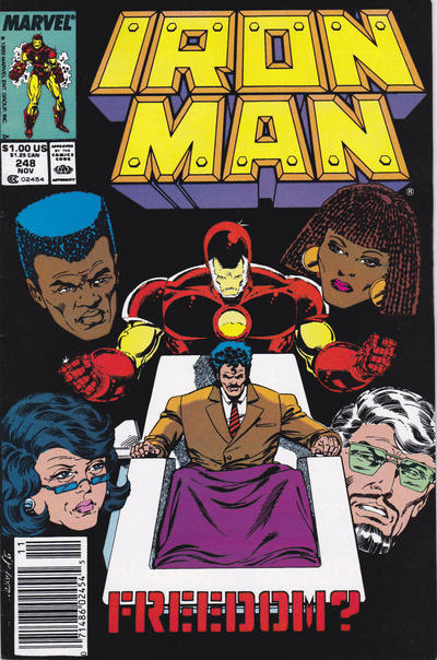 Cover for Iron Man (Marvel, 1968 series) #248 [Direct]