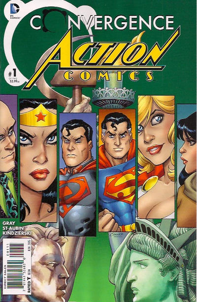 Cover for Convergence Action Comics (DC, 2015 series) #1