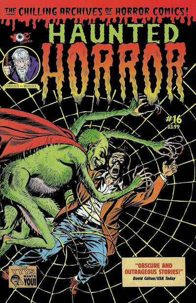 Cover for Haunted Horror (IDW, 2012 series) #16