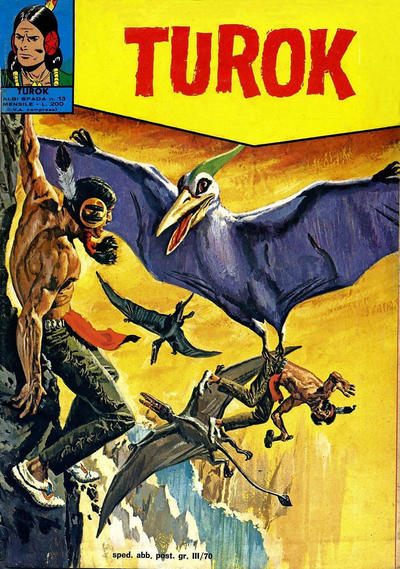 Cover for Albi Spada - Turok (Edizioni Fratelli Spada, 1972 series) #13