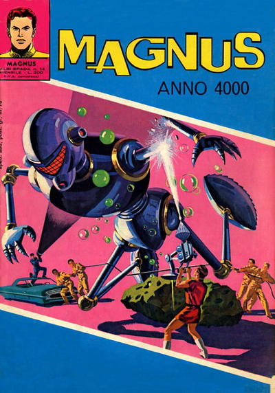 Cover for Albi Spada - Magnus, Anno 4000 (Edizioni Fratelli Spada, 1972 series) #14