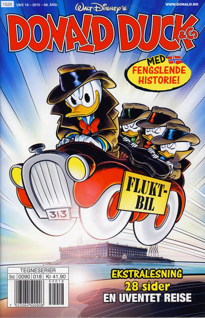 Cover for Donald Duck & Co (Hjemmet / Egmont, 1948 series) #18/2015