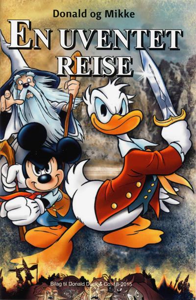 Cover for Bilag til Donald Duck & Co (Hjemmet / Egmont, 1997 series) #18/2015