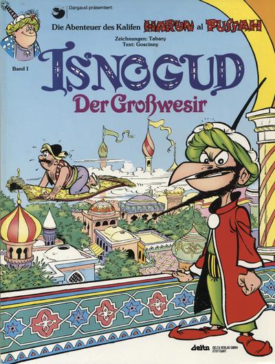 Cover for Isnogud (Egmont Ehapa, 1989 series) #1 - Isnogud der Großwesir