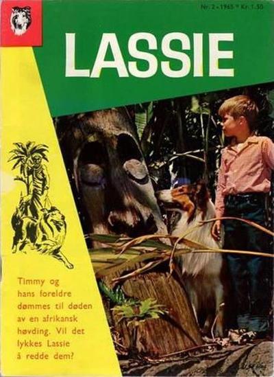 Cover for Lassie (Serieforlaget / Se-Bladene / Stabenfeldt, 1959 series) #2/1965