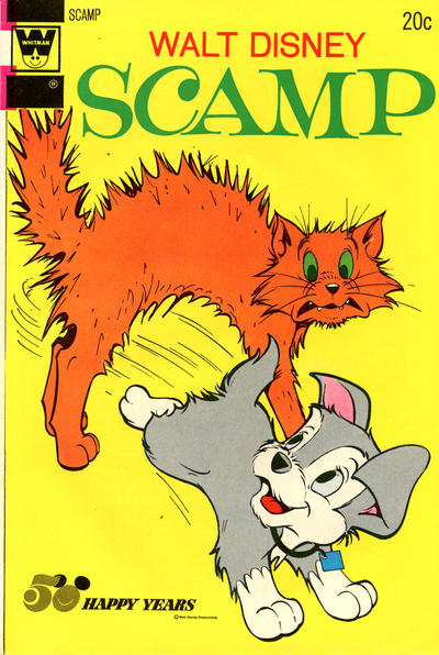 Cover for Walt Disney Scamp (Western, 1967 series) #12 [Gold Key]