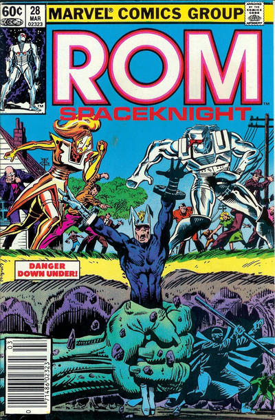 Cover for ROM (Marvel, 1979 series) #28 [Direct Edition]
