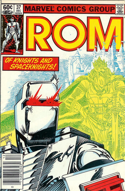 Cover for ROM (Marvel, 1979 series) #37 [Direct Edition]