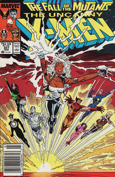 Cover for The Uncanny X-Men (Marvel, 1981 series) #227 [Newsstand]