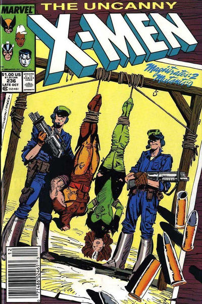 Cover for The Uncanny X-Men (Marvel, 1981 series) #236 [Newsstand]