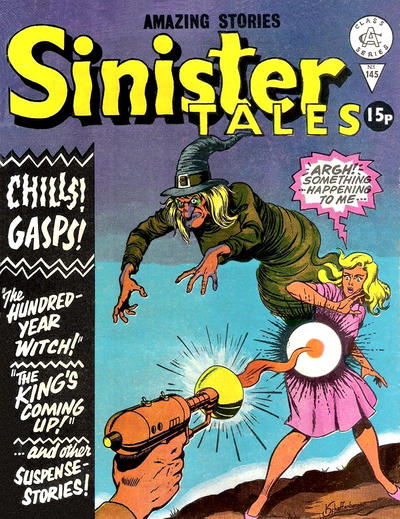 Cover for Sinister Tales (Alan Class, 1964 series) #145