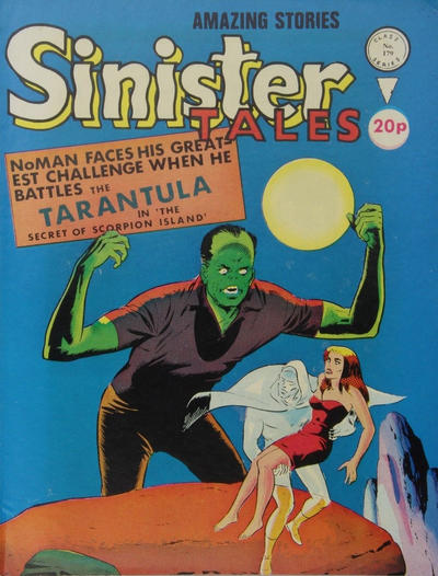 Cover for Sinister Tales (Alan Class, 1964 series) #179