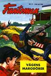Cover for Fantomen (Semic, 1963 series) #21/1958