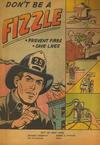 Cover Thumbnail for Don't Be a Fizzle (1960 ? series)  [Paper cover]