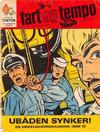 Cover for Fart og tempo (Egmont, 1966 series) #4/1968