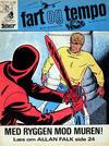 Cover for Fart og tempo (Egmont, 1966 series) #33/1968