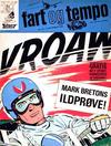 Cover for Fart og tempo (Egmont, 1966 series) #36/1968