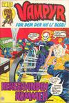 Cover for Vampyr (Interpresse, 1972 series) #8