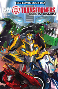 Cover Thumbnail for Transformers Robots in Disguise Free Comic Book Day (IDW, 2015 series) #0