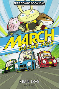 Cover Thumbnail for Free Comic Book Day: March Grand Prix (Capstone Publishers, 2015 series)