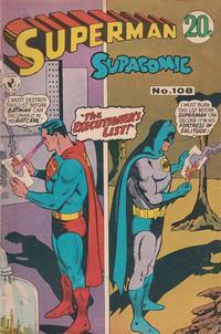 Cover Thumbnail for Superman Supacomic (K. G. Murray, 1959 series) #108
