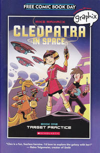Cover for Free Comic Book Day: Cleopatra in Space (Scholastic, 2015 series) #[nn]