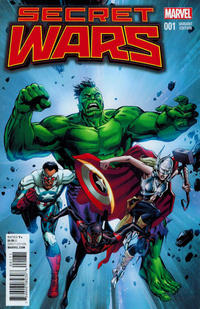Cover Thumbnail for Secret Wars (Marvel, 2015 series) #1 [Retailer Incentive Butch Guice Classic Variant]