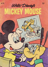 Cover Thumbnail for Walt Disney's Mickey Mouse (W. G. Publications; Wogan Publications, 1956 series) #178