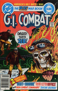 Cover Thumbnail for G.I. Combat (DC, 1957 series) #255 [Newsstand]