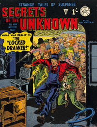 Cover Thumbnail for Secrets of the Unknown (Alan Class, 1962 series) #25