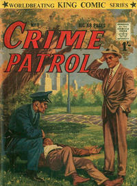Cover for Crime Patrol (Archer, 1953 series) #1