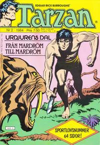 Cover Thumbnail for Tarzan (Atlantic Förlags AB, 1977 series) #2/1984