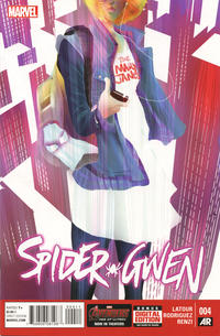 Cover Thumbnail for Spider-Gwen (Marvel, 2015 series) #4
