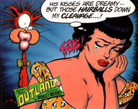 Cover Thumbnail for His Kisses Are Dreamy... but Those Hairballs Down My Cleavage...! Another Tender Outland Collection (Little, Brown, 1994 series)