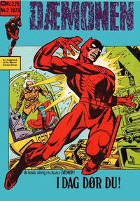 Cover Thumbnail for Dæmonen (Williams, 1973 series) #2/1973