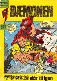 Cover Thumbnail for Dæmonen (Williams, 1973 series) #2/1974