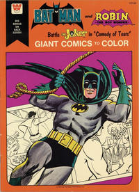 """Cover Thumbnail for Batman and Robin the Boy Wonder Battle the Joker in """"Comedy of Tears"""" [Giant Comics to Color] (Western, 1975 series) #1717"""