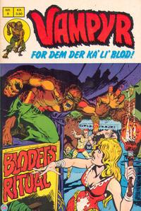 Cover Thumbnail for Vampyr (Interpresse, 1972 series) #9