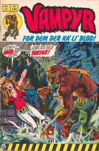 Cover Thumbnail for Vampyr (Interpresse, 1972 series) #12