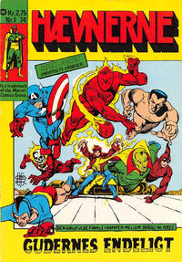 Cover Thumbnail for Hævnerne (Williams, 1973 series) #1/1974