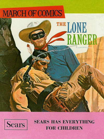 Cover for Boys' and Girls' March of Comics (Western, 1946 series) #350