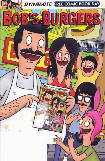Cover for Bob's Burgers, Free Comic Book Day (Dynamite Entertainment, 2015 series) #2015