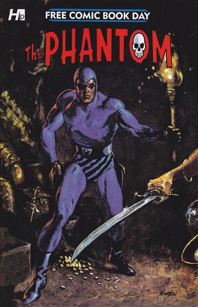 Cover for Free Comic Book Day: The Phantom (Hermes Press, 2015 series) #[nn]