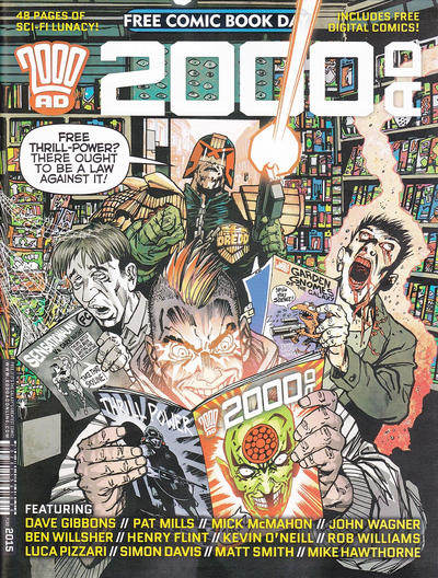 Cover for 2000 AD Free Comic Book Day (Rebellion, 2012 series) #2015