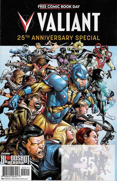 Cover for FCBD 2015: Valiant 25th Anniversary Special (Valiant Entertainment, 2015 series)