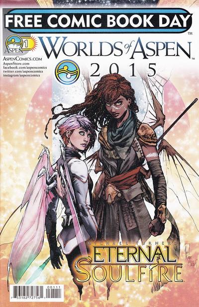 Cover for Worlds of Aspen 2015 (Aspen, 2015 series) #1