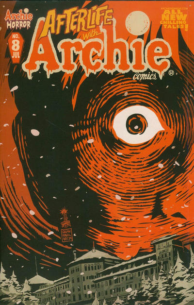 Cover for Afterlife with Archie (Archie, 2013 series) #8 [Francisco Francavilla Variant]